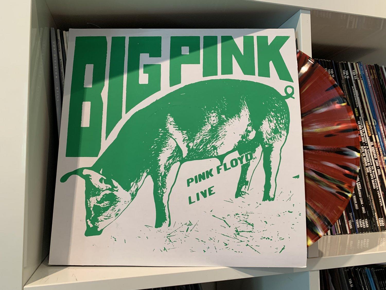 PINK FLOYD LP big pink