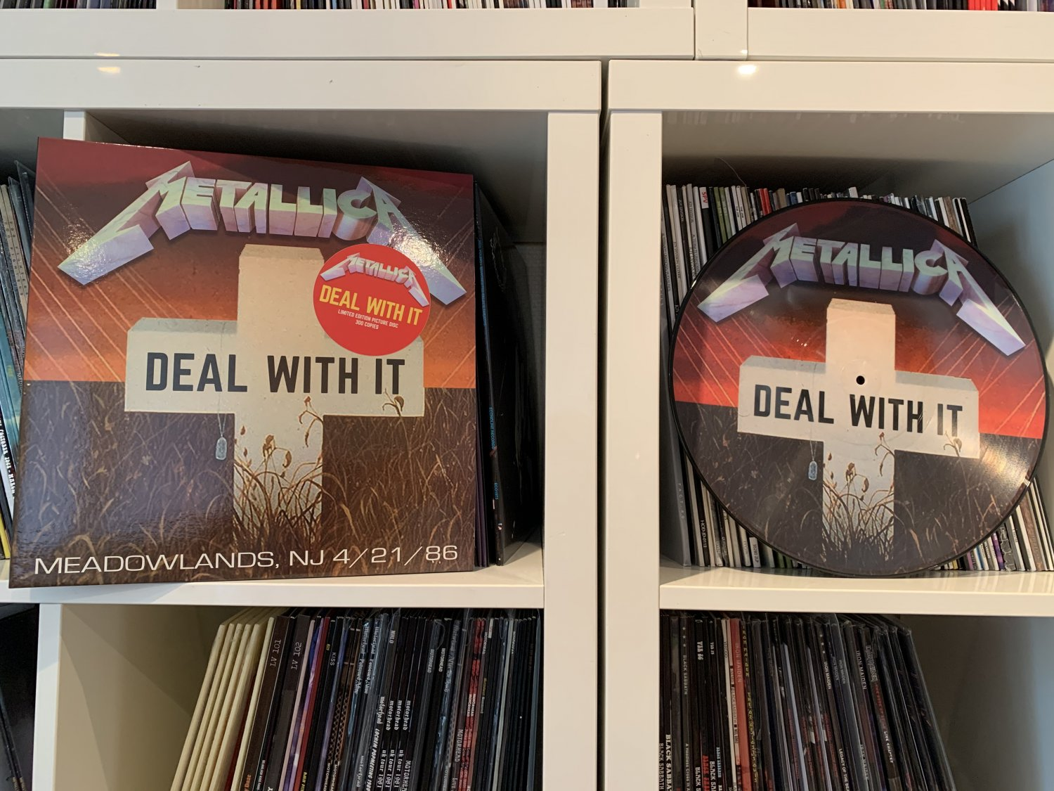 METALLICA deal with it