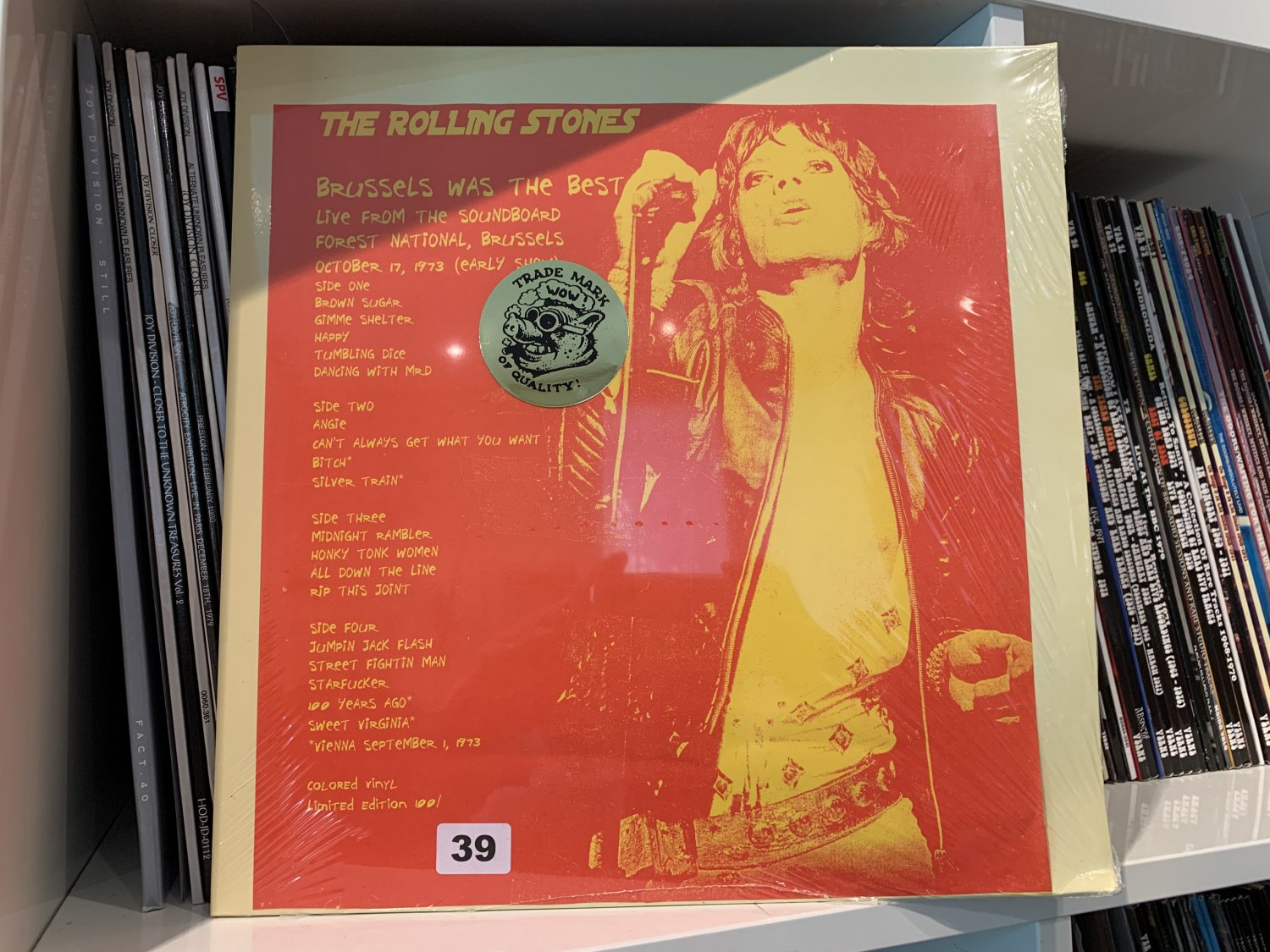 THE ROLLING STONES 2LP Brussels was the best