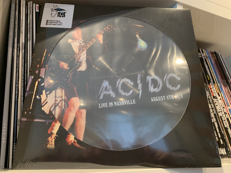 AC/DC LIVE IN NASHVILLE 1978