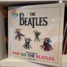 THE BEATLES 4LP BOX SET the complete pop go the beatles