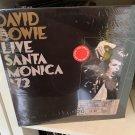 DAVID BOWIE 2LP live Santa Monica '72