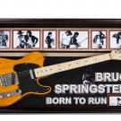 Bruce Springsteen Signed Guitar Born to Run Custom Framed