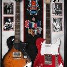 Chuck Berry and B.B. King Rhythm n' Blues Signed Guitar Custom Framed