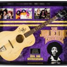 Jimi Hendrix - Signed Guitar Custom Framed
