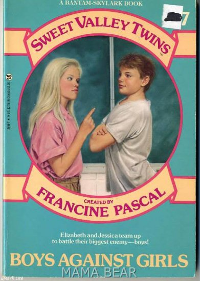 Boys Against Girls #17 Sweet Valley Twins Series
