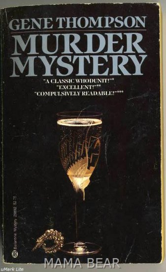 Mystery Murder by Gene Thompson Paper Back