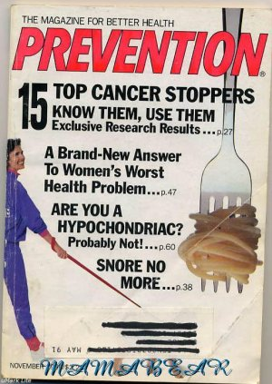 Prevention The Magazine For Better Health November 1990