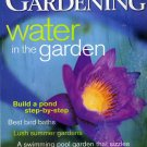 Canadian Gardening  June/July 2001  Water in the Garden