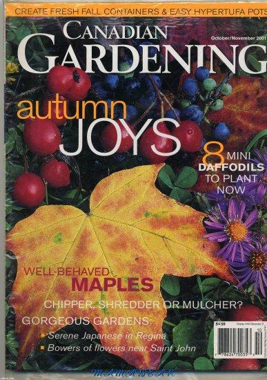 Canadian Gardening October/November 2001  Autumn Joys