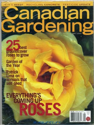 Canadian Gardening May 2002  Roses