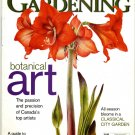 Canadian Gardening Botanical Art Back Issue Magazine
