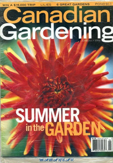 Canadian Gardening June/July 2002 Summer in the Garden