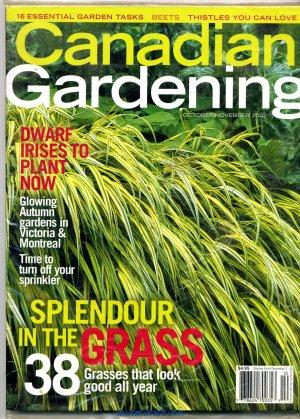 Canadian Gardening  Oct/Nov 2002 Splendor In The Grass