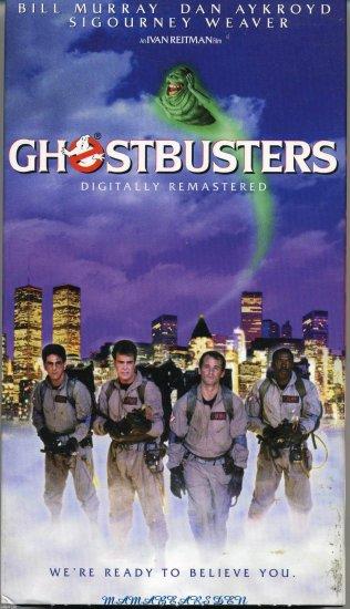 Ghostbusters 1984 VHS Comedy - Bill Murray, Dan Aykroyd & Sigourney Weaver