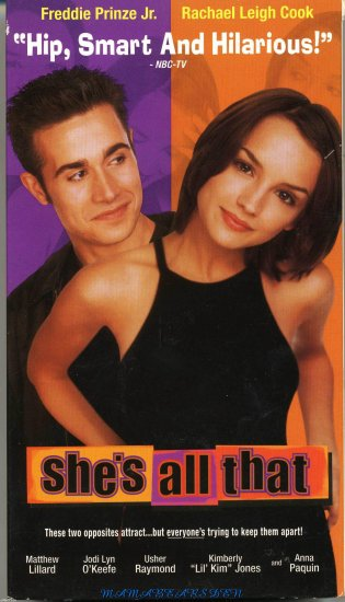 She's All That Starring Freddie Prinze Jr and Rachael Leigh Cook