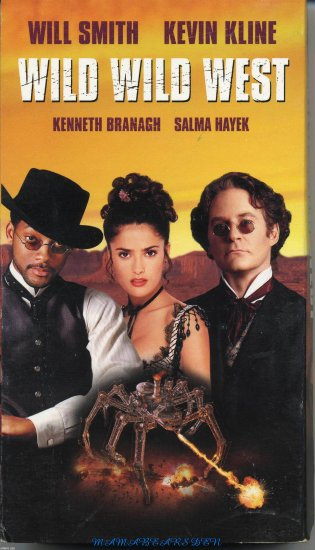 Wild Wild West Starring Will Smith and Kevin Kline