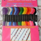 Coats Cotton Embroidery Floss Value Pack Bright Colors