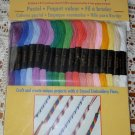 Coats Embroidery Floss Value Pack Pastel Colors