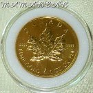 $50 Gold Canadian Maple Leaf 1 Troy Oz. Uncirculated