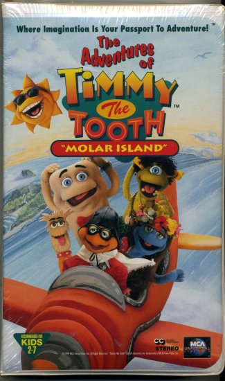 """Adventures of Timmy The Tooth  """" Molar Island"""""""