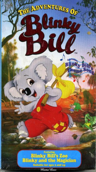 """Adventures of Blinky Bill   """"Blinky Bill's Zoo & Blinky and the Magician"""""""