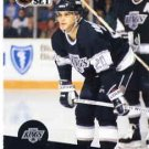 1991/92 NHL  Pro Set Hockey Card Luc Robitaille #95  N/Mint