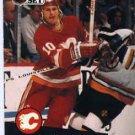 1991/92 NHL  Pro Set Hockey Card Gary Roberts  #30  N/Mint