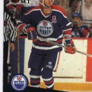 1991/92 NHL  Pro Set Hockey Card Kevin Lowe #76  N/Mint