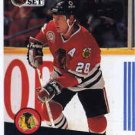1991/92 NHL  Pro Set Hockey Card Steve Larmer #49 N/Mint
