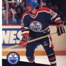 1991/92 NHL  Pro Set Hockey Card Petr Klima #72  Near Mint