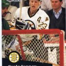 1991/92 NHL  Pro Set Hockey Card Craig Janney #2 Near Mint