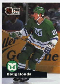 1991/92 NHL  Pro Set Hockey Card Doug Houda #81 Near Mint