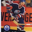 1991/92 NHL  Pro Set Hockey Card Martin Gelinas #66 Near Min