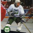 1991/92 NHL  Pro Set Hockey Card Dean Evason #84 Near Mint