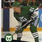 1991/92 NHL  Pro Set Hockey Card Sylvain Cote #82 Near Mint