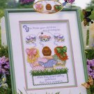 StitchWorld X-Stitch CHILDREN GROWING UP Cross Stitch Pattern Leaflet New