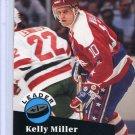 Kelly Miller Leader 91/92 Pro Set #611 NHL Hockey Card