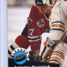 Jeremy Roenick Leader 91/92 Pro Set #605 NHL Hockey Card