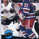 Mike Gardner Leader 91/92 Pro Set #604 NHL Hockey Card