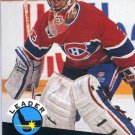 Patrick Roy Leader 91/92 Pro Set #599 NHL Hockey Card