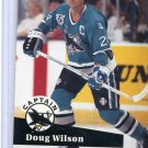 Doug Wilson NHL Hockey Trading Card 91/92 Pro Set #584 Near Mint/Mint Condition