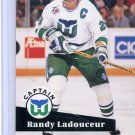 Randy Ladouceur 91/92 Pro Set #573 NHL Hockey Card Near Mint/Mint Condition