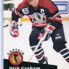 Dirk Graham Captain NHL Hockey Trading Card 1991/92 Pro Set # 570 Near Mint