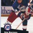 Stu Barnes 1991/92 Pro Set #566 NHL Hockey Trading Card Near Mint/Mint