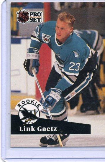 Link Gaetz 1991/92 Pro Set #561 NHL Hockey Card Near Mint/Mint