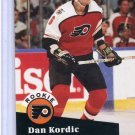 Rookie Dan Kordic 1991/92 Pro Set #553 NHL Hockey Card Near Mint Condition
