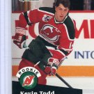 Rookie Kevin Todd 1991/92 Pro Set #548 NHL Hockey Card Near Mint Condition