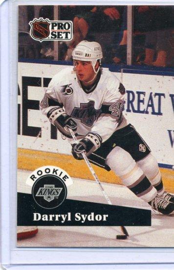 Rookie Darryl Sydor 1991/92 Pro Set #542 NHL Hockey Card Near Mint Condition