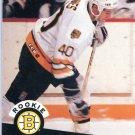Rookie Chris Winnes 1991/92 Pro Set #522 NHL Hockey Card Near Mint Condition